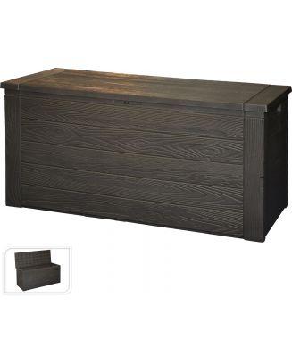 Tuinkussen opbergbox houtlook 300 L