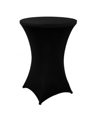 Statafelrok zwart 80 cm